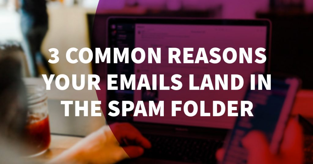 3 Common Reasons Your Emails Land in the Spam Folder