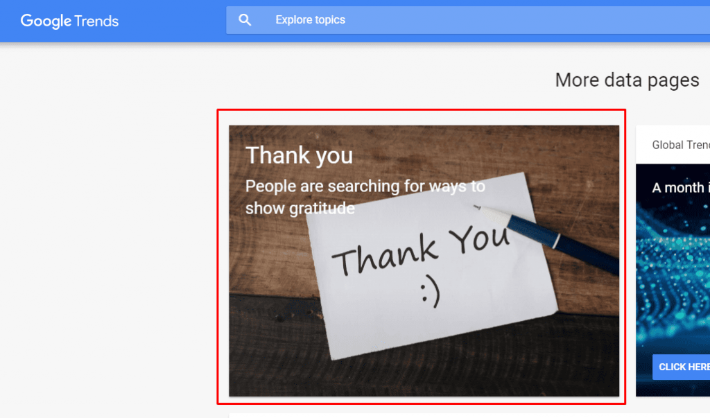 "How the ""Thank You"" Google Trends Page Can Inspire Marketers"