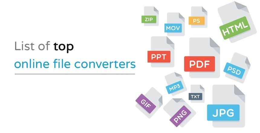 Top Online File Converters