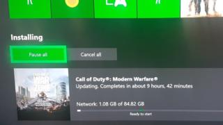 Call of Duty update