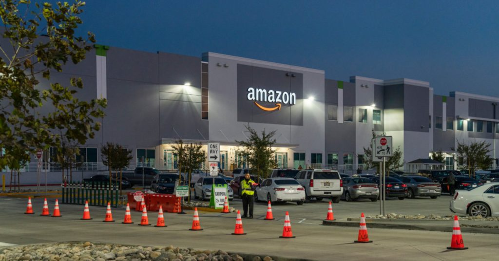 Calls Rise Inside Amazon to Address Racial Inequity