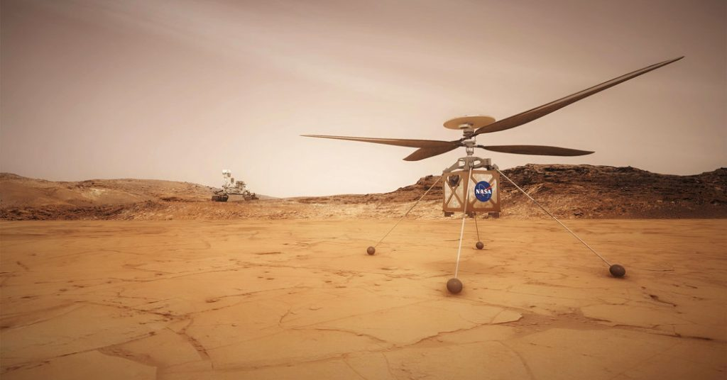 Mars Is About to Have Its 'Wright Brothers Moment'