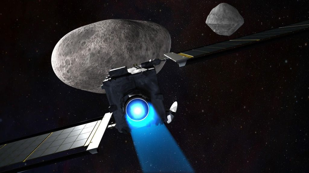NASA will smash a spacecraft into 'Dimorphos', a moon the size of Egypt's Great Pyramid