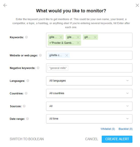 setting online reputation management tool