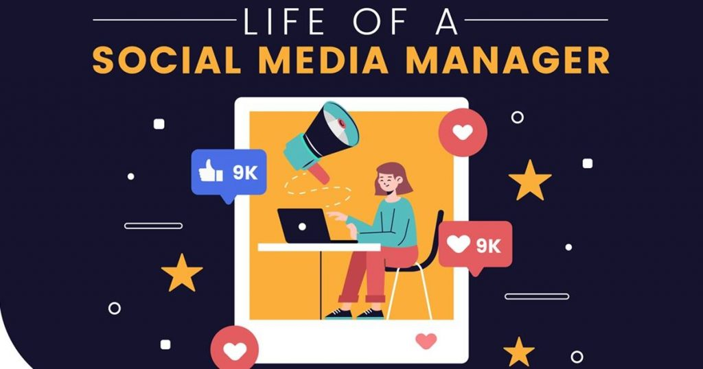 The Work Life of a Social Media Manager [Infographic]