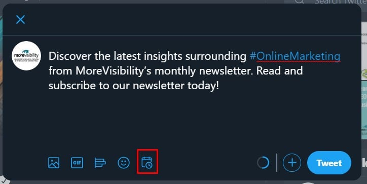 Twitter's Introduces A New Scheduling Feature: MoreVisibility