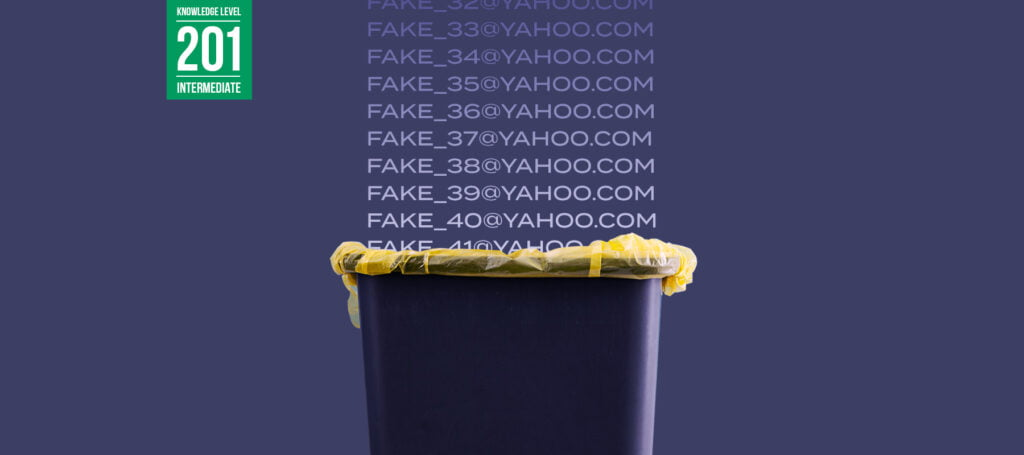 Are Yahoo's Disposable Email Addresses [Spam] Trapping You? - Validity