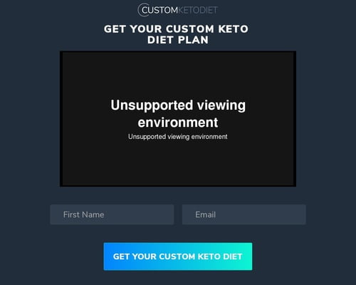 Custom Keto Diet Video