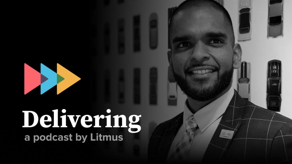 Delivering episode 34: Shazad Beharry on going email first in an omnichannel world - Litmus