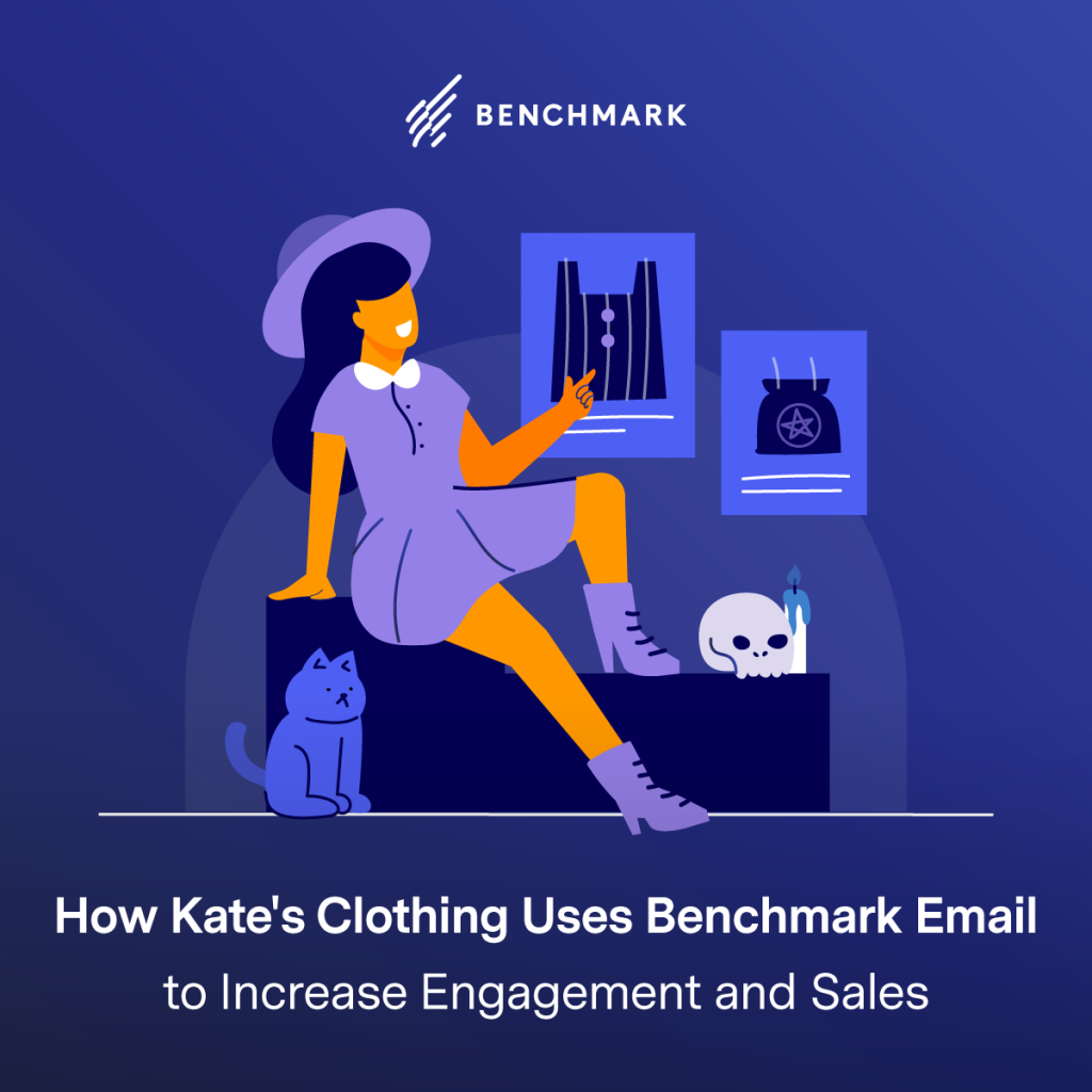How Kate's Clothing Uses Benchmark Email to Increase Engagement and Sales
