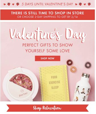 self love valentines email